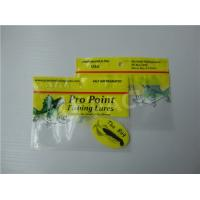Buy cheap Printed Fishing Bait Soft Plastic Storage Bags With Clear Window And Foil Zipper from wholesalers