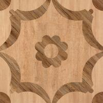 Buy cheap Matte Finish  600*600 Rustic Wood Look Ceramic Tile  Flower Design In Bathroom Floor from wholesalers