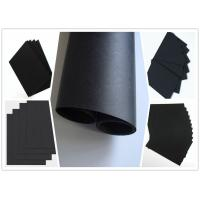 Buy cheap Smooth Surface Two Side Coated Black Paper On A Roll For Shopping Bag 787 mm Width from wholesalers
