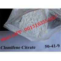 Buy cheap Bodybuilding Anti Estrogen Steroid Clomifene Citrate / Clomid Powder  50-41-9 from wholesalers
