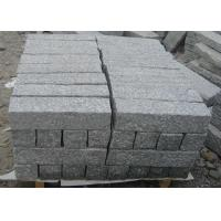 Buy cheap Light Grey Parking Lot Curb Stones , Garden Kerb Stones For Driveways from wholesalers