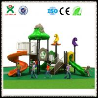Buy cheap Hot Sale Children Plastic Playground Used Outdoor Playground Equipment For Sale QX-011B from wholesalers