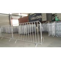 Buy cheap 1090mmx1500mm Crowd Control Barriers from wholesalers