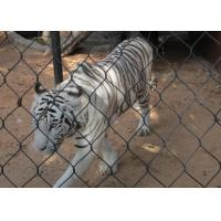 Wholesale Ferrule Cable Stainless Steel Rope Mesh Netting 316 304 For Animal Zoo Enclosure from china suppliers