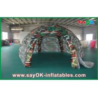 Buy cheap Waterproof Outdoor Inflatable Air Tent  , Spider Military Inflatable Dome Tent from wholesalers