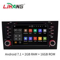 Buy cheap 2GB RAM A6 Audi Car DVD Player GPS Navigation System With SD USB Radio Mirror Link from wholesalers