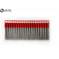 Buy cheap Sweeper Broom Stainless Steel Strip Brush , Industrial Cleaning Brushes Airport Runway from wholesalers