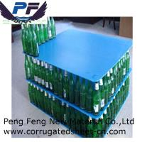 Buy cheap 2-12 mm blue colour Polypropylene Plastic Corrugated Layer Pad for bottles industry from wholesalers