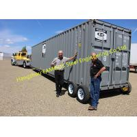 Buy cheap Modern Design Shipping Prefab Container House On Wheels Tiny Container Home from wholesalers