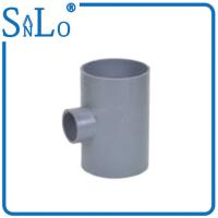 Buy cheap 3 Way Pvc Water Pipe Fittings , Solvent Reducing Tee Pipe Fitting Din from wholesalers