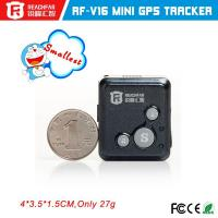 Buy cheap new arrival child gps tracker mini free android universal remote control mini gps tracker for children from wholesalers