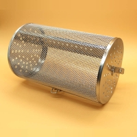 Buy cheap Stainless Steel Rotisserie Oven Basket for Roasting Baking Nuts Coffee Beans from wholesalers
