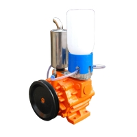 Buy cheap Double Stages Rotary Vane Type Vacuum Pump 220V 50Hz 1Phase High Vacuum from wholesalers