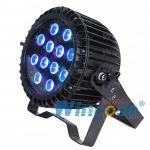 Buy cheap Slim Waterproof Led Par Light , Flat Par Up Light 12*18W RGBAW UV 6 in 1 from wholesalers