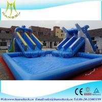 Buy cheap Hansel popular infltable extra large inflatable pool for swimming from wholesalers