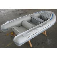Buy cheap Gray / Red 5 Person Inflatable Boat Semi FRP Boats With YAMAHA Motor from wholesalers