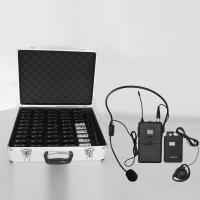 Buy cheap UHF one-way Communication System Tour Guide Equipment for travel company from wholesalers