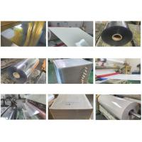 Wholesale Transparent/Grey Heat Transfer Reflective Film Sheets and Rolls For Screen Printing Safety Clothing/Garments Printing from china suppliers