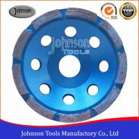 Wholesale 115mm Single Row Diamond Turbo Cup Wheel , Floor Grinding , Grinder Wheel from china suppliers