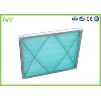 Wholesale G3 Fiberglass Spray Booth Air Filters , Air Purifier Filters Large Ventilation Quantity from china suppliers