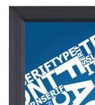 Buy cheap Waterproof LED Advertising Boards Door Open Lockable Silver Frame  Silk - Screen Printing LGP from wholesalers