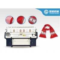 Buy cheap Cashmere Three System 14G Scarf Knitting Machine from wholesalers