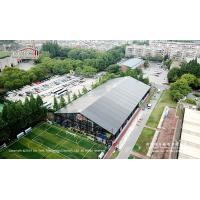 Quality Black tent for indoor basketball sports hall with black PVC fabrics for sale