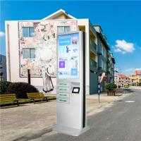 Buy cheap Outdoor Usb Fast Charging Cell Phone Charging Stations Kiosk Locker 6 Port Coin Operated from wholesalers