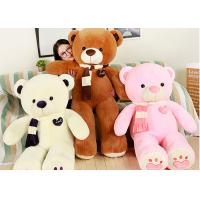 Wholesale Soft Animal Plush Toys New Scarf Cartoon Bear Doll Plush Toy For Girl Birthday Gift from china suppliers