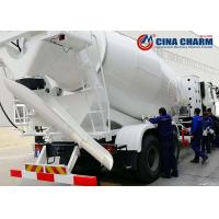 Buy cheap Ready Mix Concrete Mixer Trucks 1 Year Warranty With 16m3 Loading Capacity from wholesalers