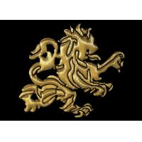 Buy cheap Dragon Pattern 3D Woven Embroidered Jacket Patches Heat Transfer , Embroidered Emblem from wholesalers