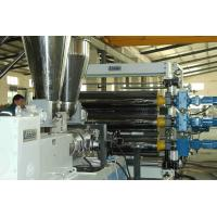 Buy cheap 1500mm High Efficiency PET Sheet Extrusion Line Parallel Twin Screw Extrusion Machine from wholesalers