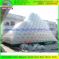 Buy cheap Crazy Water Game Customized Adult Inflatable Climbing Iceberg, Inflatable Water Iceberg from wholesalers