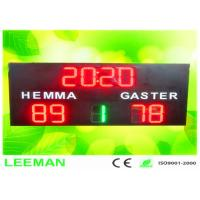 Buy cheap Football Stadium LED Screens Digital Number LED Soccer Substitution Board 2 Color 2 Side from wholesalers