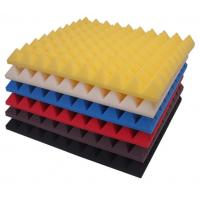 Buy cheap Yellow Acoustic Foam Panels Soundproofing Material For Car Noise Absorber Foam from wholesalers