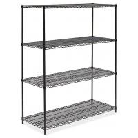 Buy cheap NSF Commercial Wire Shelving Unit 18 X 42 / Steel Vegetable Storage Rack from wholesalers