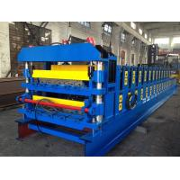 Buy cheap 18 Forming Stations Double Layer Roof Tile Roll Forming Machine For Metal Roof Wall Panels from wholesalers