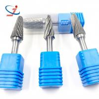 Buy cheap High Hardness Solid Carbide Burrs Wood Carving Bits For Die Grinders from wholesalers