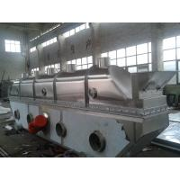 Buy cheap Vibrating Continuous Fluid Bed Dryer Machine Fully Closed Structure For Chemical Industries from wholesalers