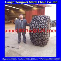 Buy cheap 23.5r25 wheel loader tyre/tire protection chain from wholesalers