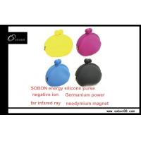 Buy cheap Negative Ions Products - Colorful Unisex Portable OEM Power Balance Silicone Lipstick Case from wholesalers