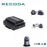 Buy cheap 1080P Resolution Car Dvr Video Recorder HDD/SD 4G/WIFI/GPS G- Sensor 4CH AHD Input from wholesalers