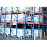 Buy cheap Roll Forming Food Companies Drive In Storage Warehouse Racking Shelves from wholesalers