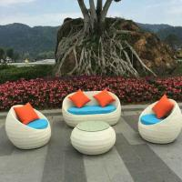 China China manufacture outdoor garden furnitures indoor rattan chair sets on sale