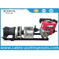 China 5 Ton Fast  Speed Wire Rope Winch With Air cooled Diesel Engine on sale