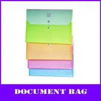 Buy cheap color a4 pp file box with string fastener (Horizontal style) from wholesalers