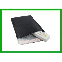 Buy cheap Cold Shipping Black Foil Bubble Padded Mailers Durable Material from wholesalers
