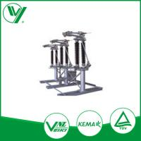 Semi Pantograph High Voltage Disconnect Switch , Electric Isolator For Power Station 245KV Manufactures