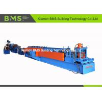 Buy cheap 22 - Step PLC Control Steel C Purlin Roll Forming Machine With Full Auto Change Model 20m/min from wholesalers