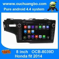 Buy cheap Ouchuangbo Car Stereo DVD radio for Honda Fit 2014 Android 4.4 GPS Sat Nav 3G Wifi Blueto from wholesalers